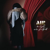 air – so light is her footfall